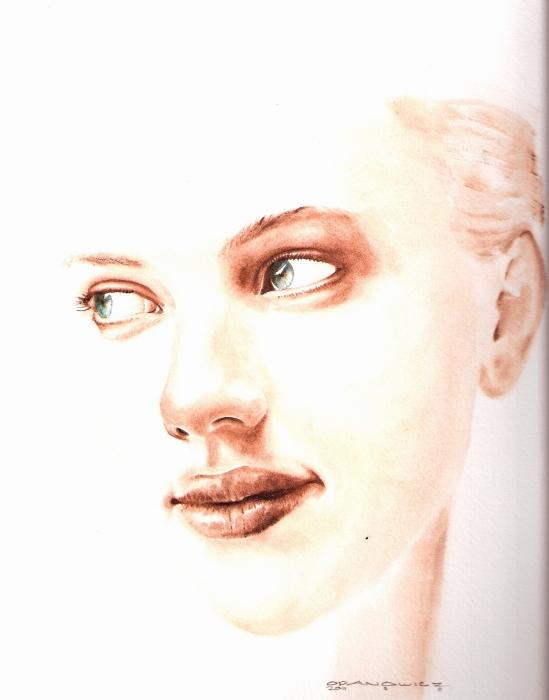Scarlett Johansson par richardkarl